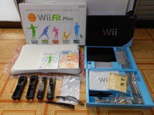 ゲーム機や周辺機器Wiiのお買取。